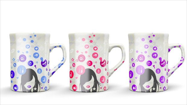 Creative Mug Mock Up Set