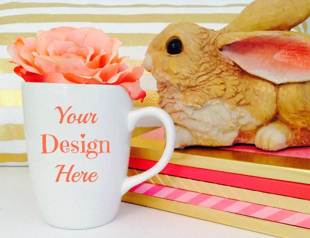 Easter Mug Photo Mockup