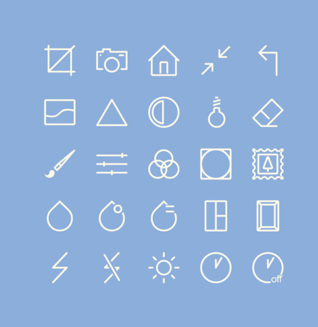Image Editing icons