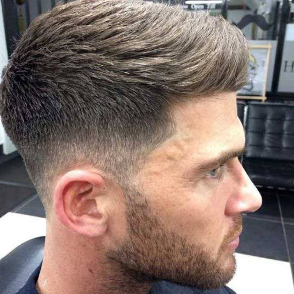 Cool Short Fade Haircut Design
