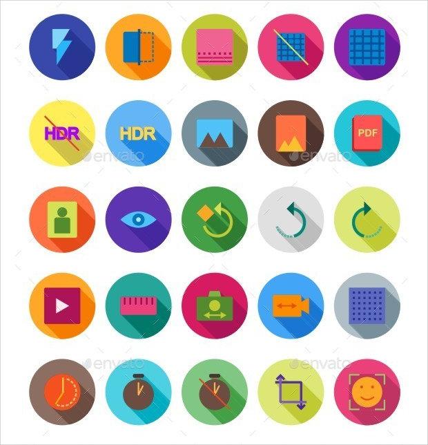 Mutimedia Editing Icons