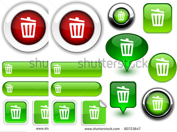 Recyclebin Icons Set