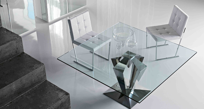 18 Square Glass Top Dining Tables Designs Ideas Plans