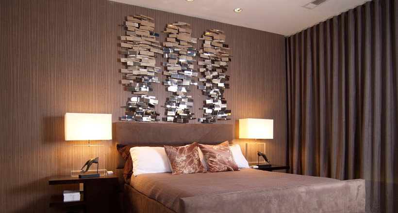 Nice Img. A Stylist Bedroom Wall Decor ...