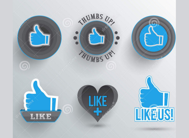innovative styles of like buttons