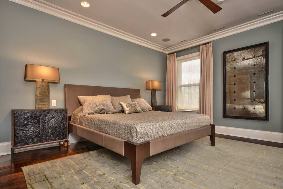 Royal Transitional Master Bedroom