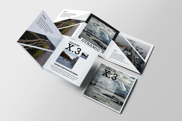 brochure greeting card mock ups