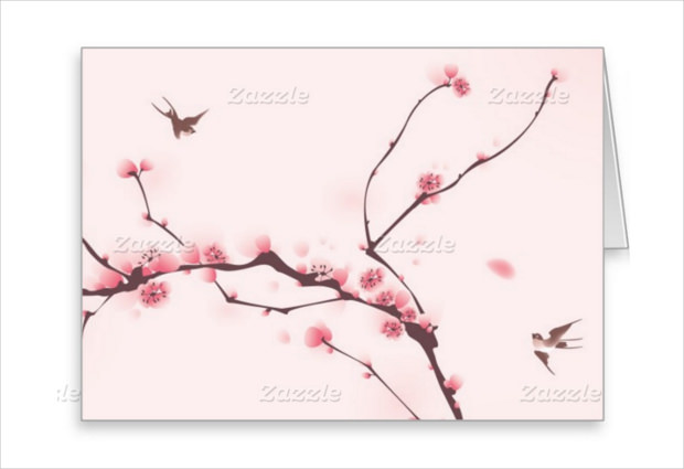 Natural Mock up for Greeting Card