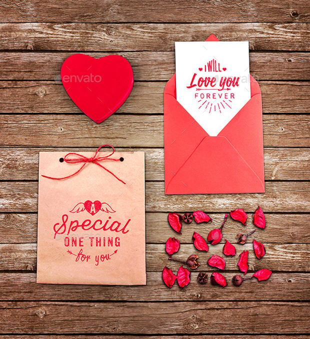 Special Greeting Card Mock up