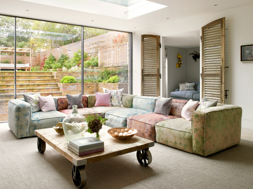 23 traditional sofa designs ideas plans design trends for Modern living sofa