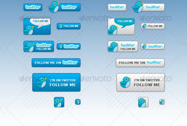 Cool Platform Twitter buttons