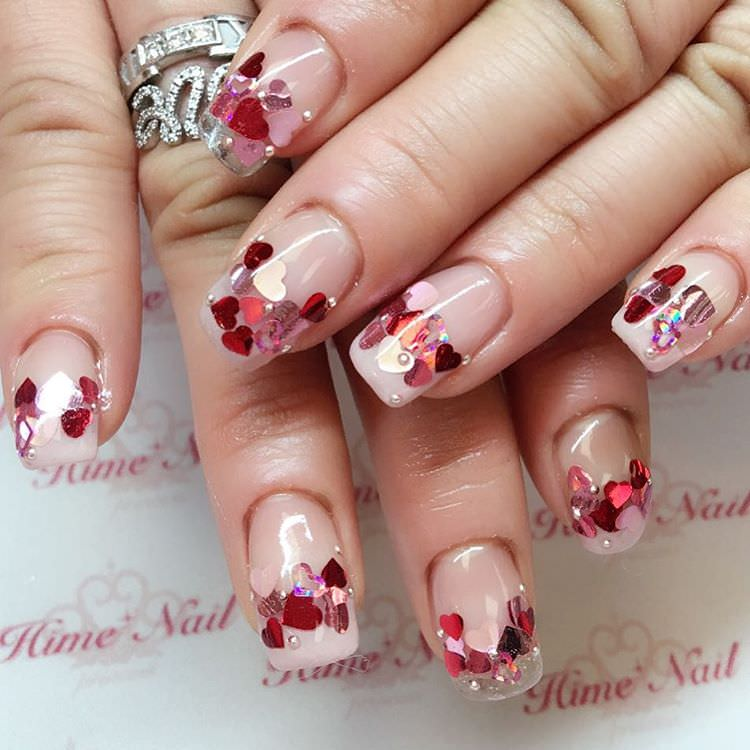 27+ Valentine Nail Art Designs, Ideas | Design Trends - Premium PSD ...