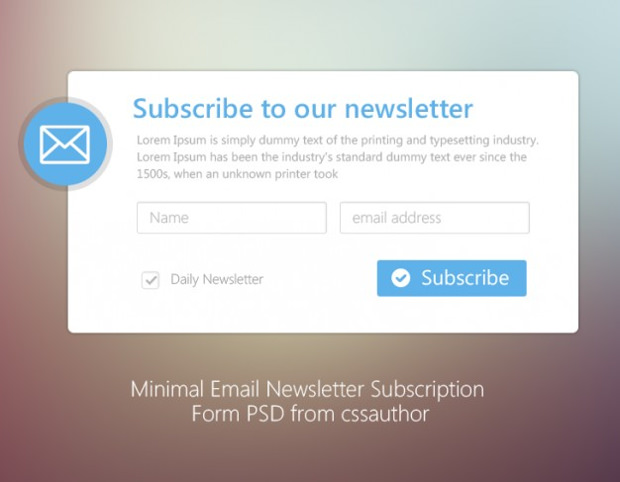Free psd email templates