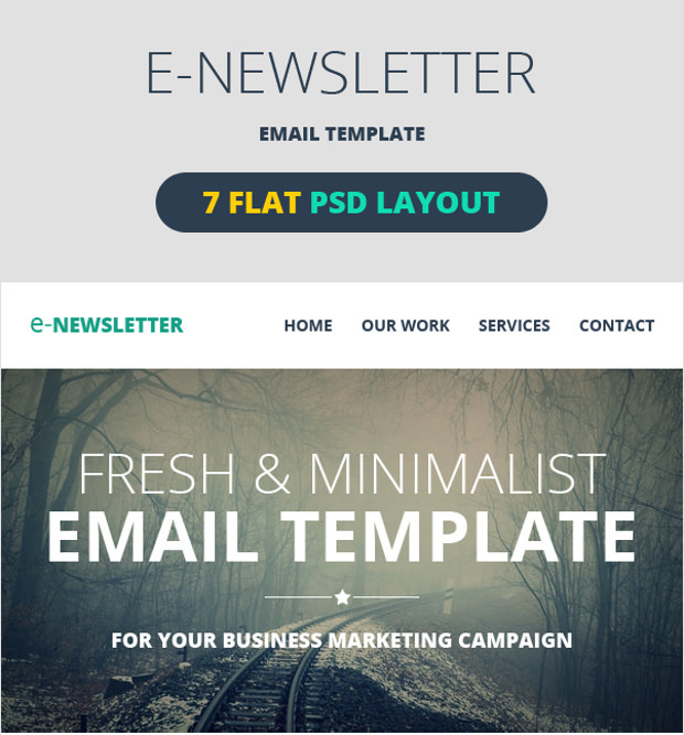 6+ email Psd Templates