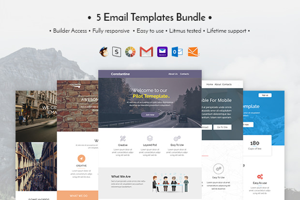5email template bundle download