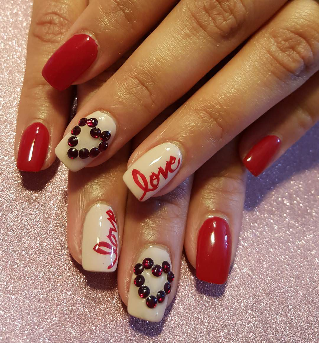 27 Valentine Nail Art Designs Ideas Design Trends Premium Psd