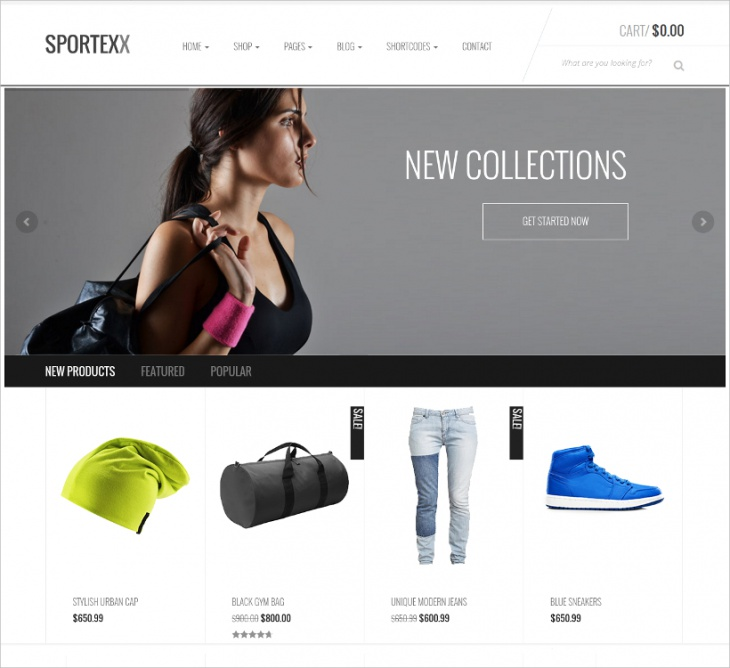 Sports Store WooCommerce Theme