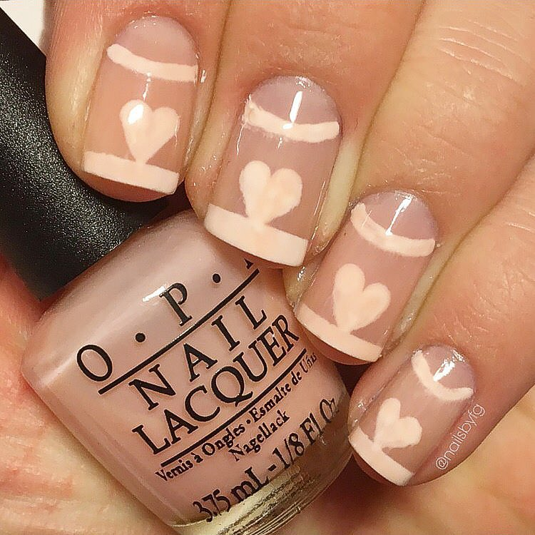 Nice Love Design Nails Image Pattern - Nail Paint Design Ideas ...