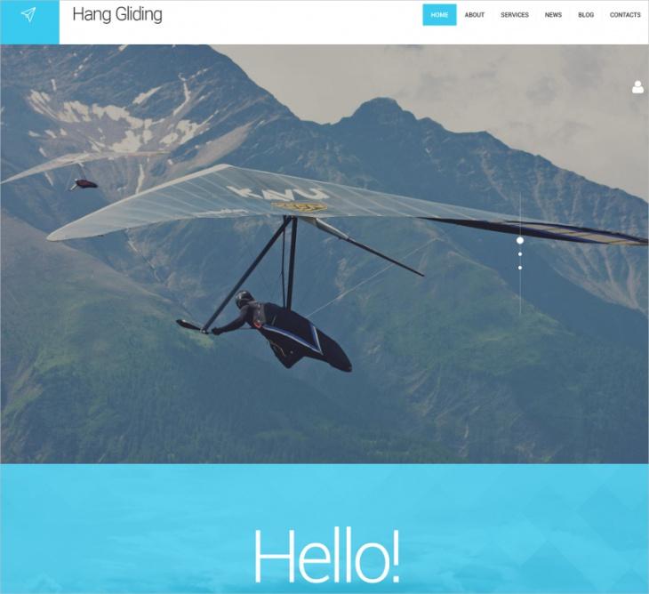 Hang Gliding WP Theme