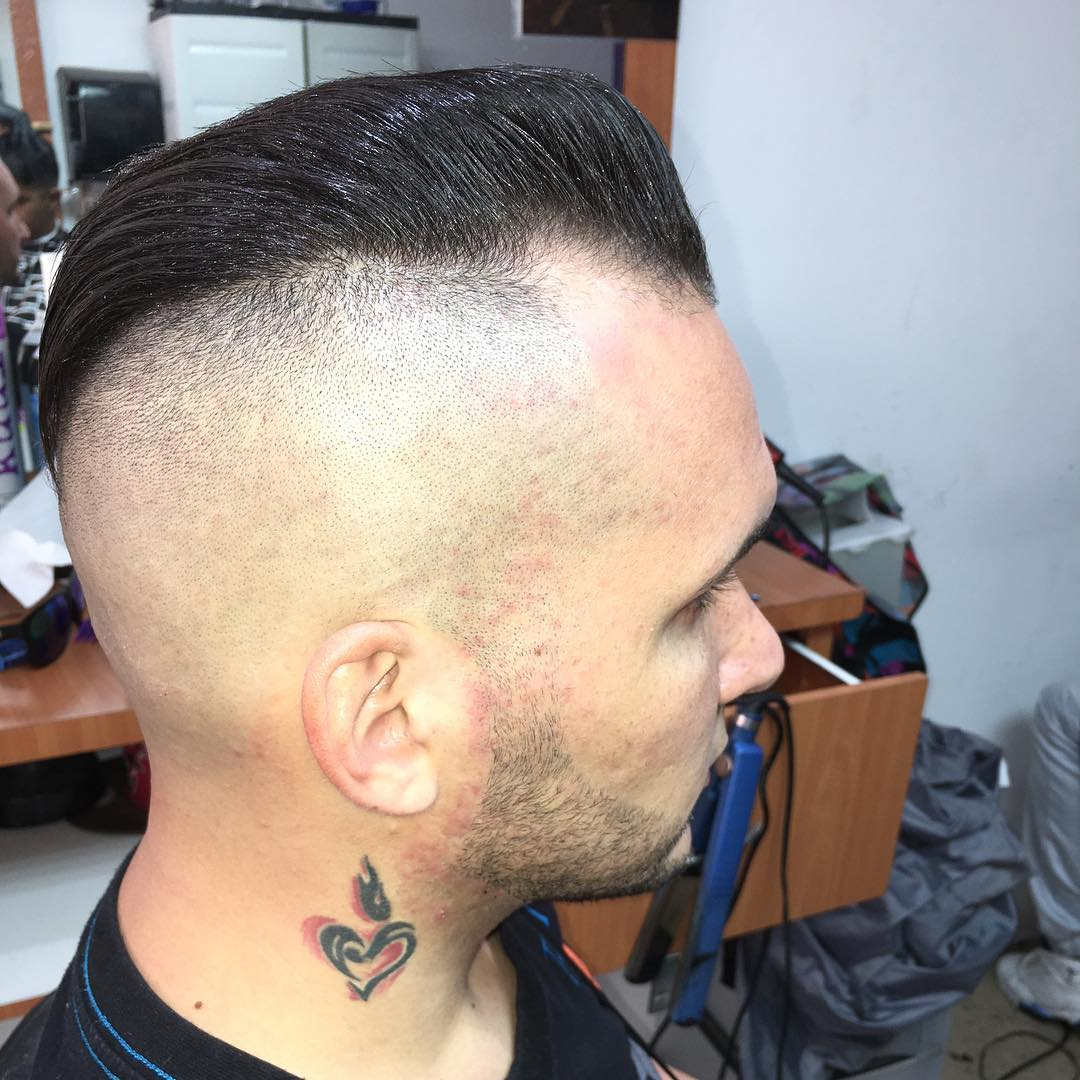 High Fade Haircut Style Design