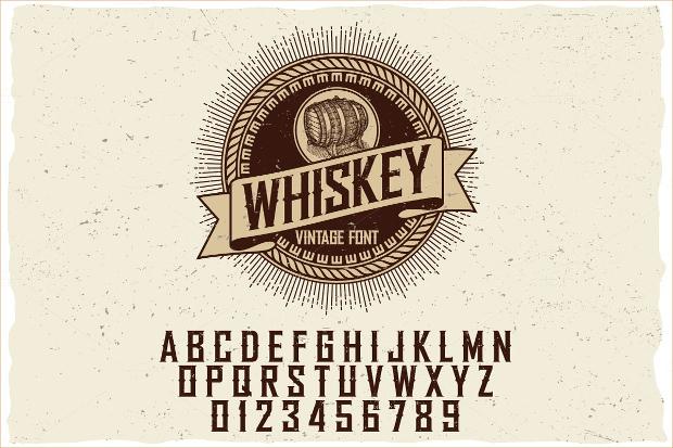 light western font