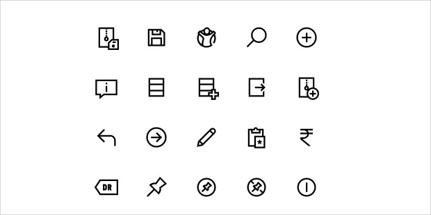 window Application save Icons