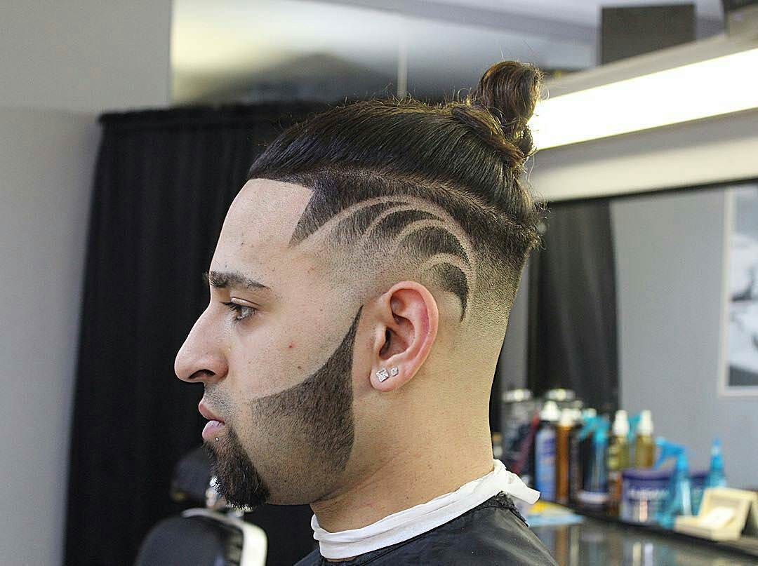 Lovely High Fade Haircut Design