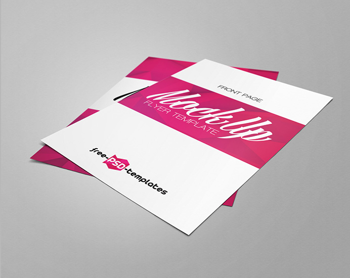 Flyer Front and Back Mockup