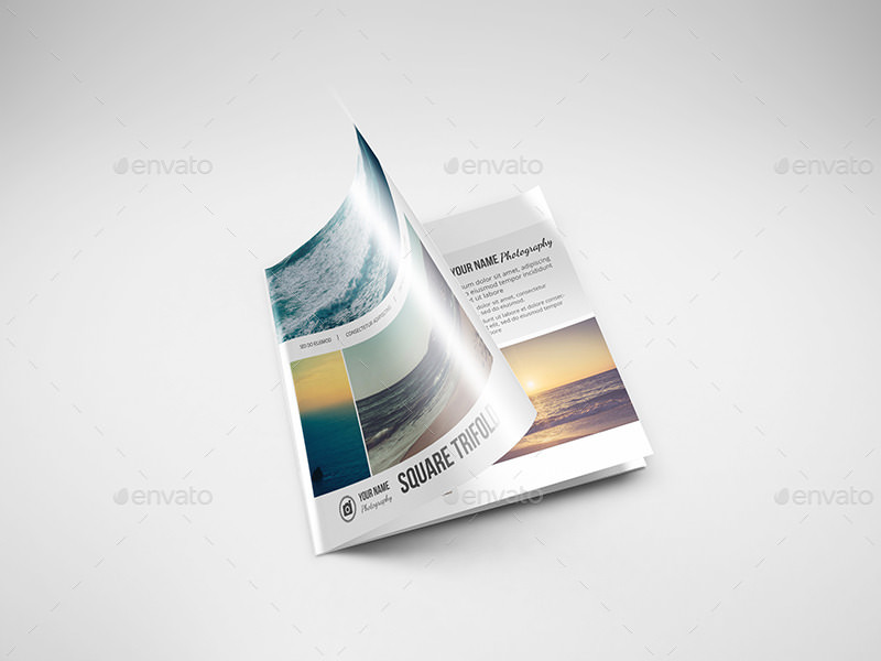 Flyer Realistic PSD Mock-ups Ideas
