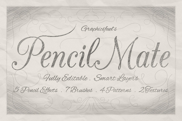 Pencil Mate Brushes Collection
