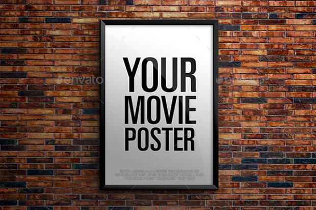 Theatrical Movie Poster Mockup