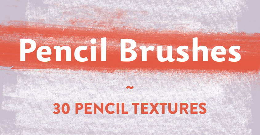 23+ Pencil brushes, Download for Photoshop, Gimp | Design