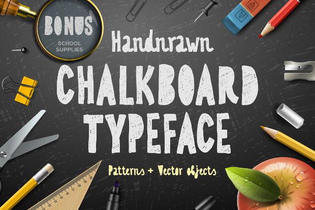 beautiful chalk font