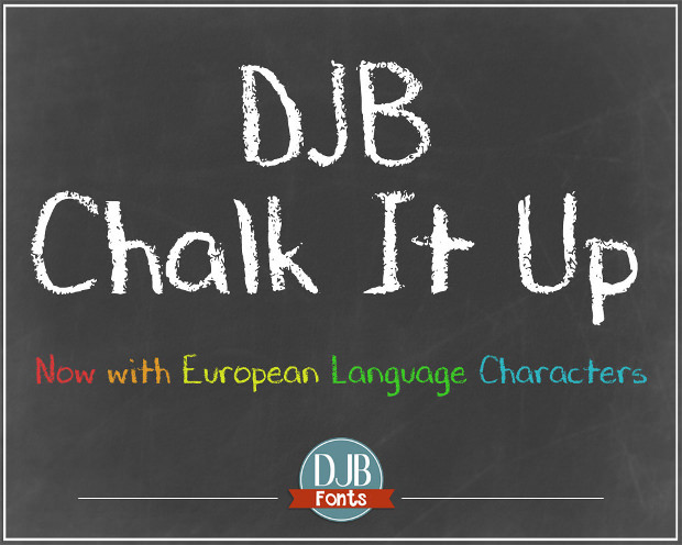 Nice DJB Chalk Font