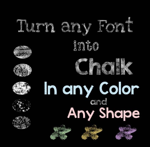 Convertable Chalk Font