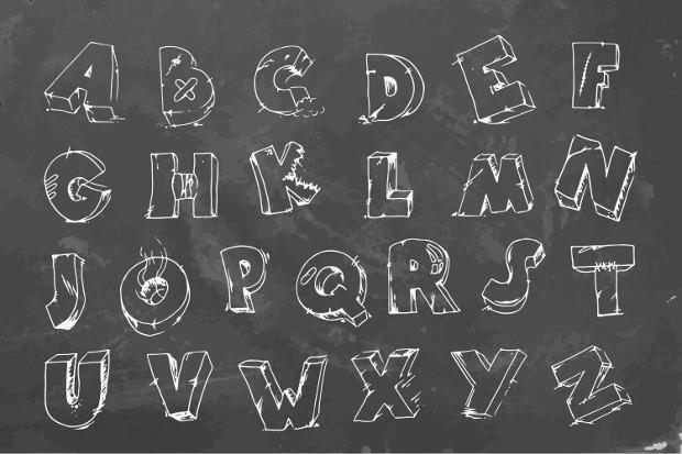 Blackboard Chalk Font
