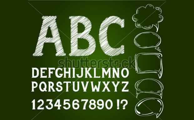 Style Chalk Font