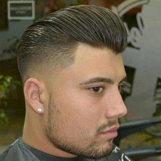 Beautiful Bald Faded Haircut Design