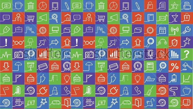 100 metro style icons