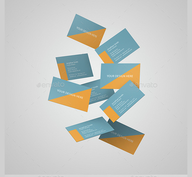 Business Card Covers Mockup
