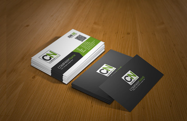 Custome Business Card Mock Up