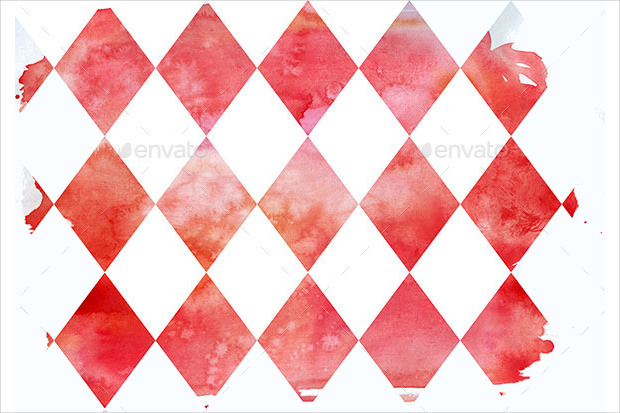 Red Water Color Textures