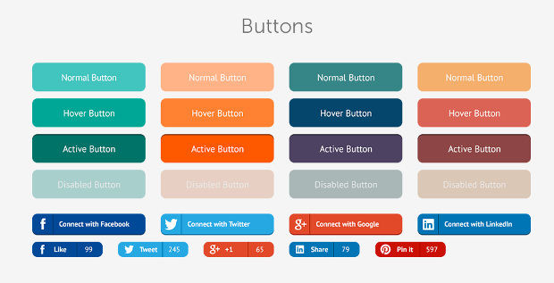 flat web ui download