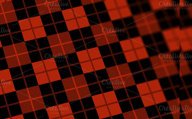 Check Pattern Red Texture
