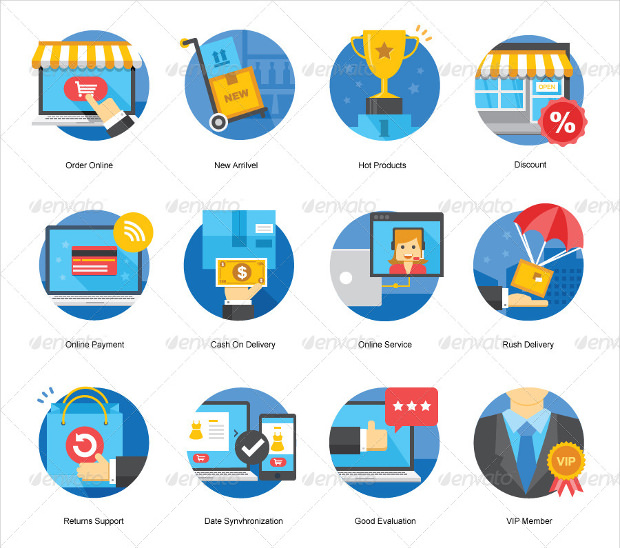 Ecommerce Shopping Icons