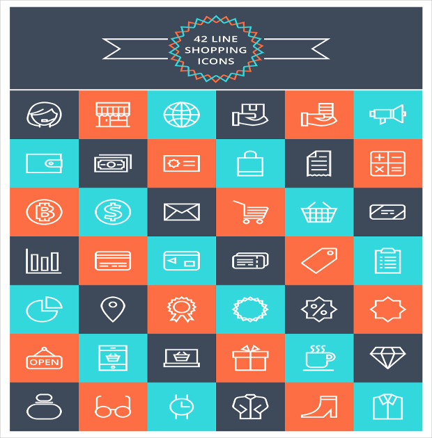 Free Vector Shopping Icons