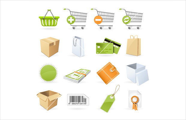 Latest Shopping and Retail Icons