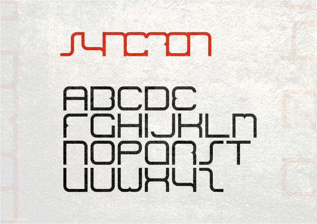 Different Electronic Font Design