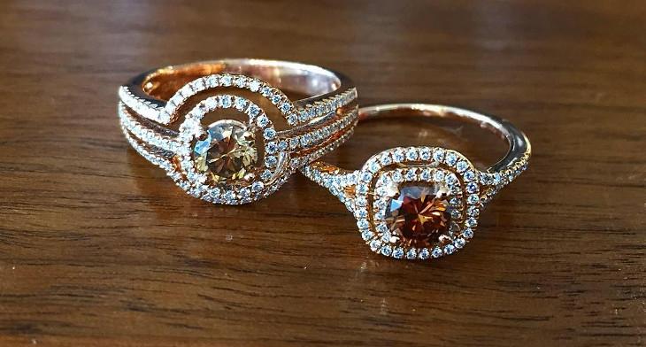 26 Chocolate Diamond Ring Designs Trends Design Trends Premium