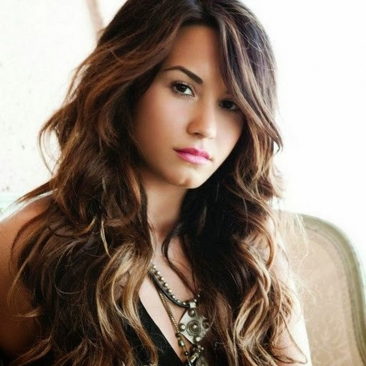 Demi Lovato Long Hair